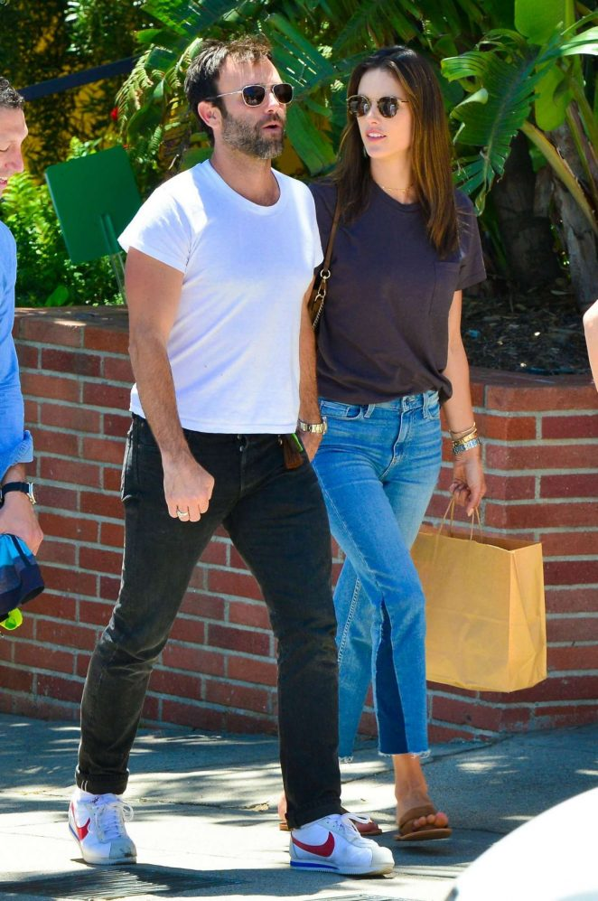 Alessandra Ambrosio and Jamie Mazur Out in Pacifiy Palisades