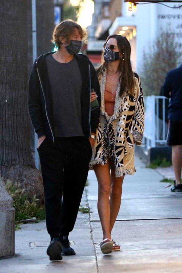 Alessandra Ambrosio and Nicolo Oddi - Out in Venice