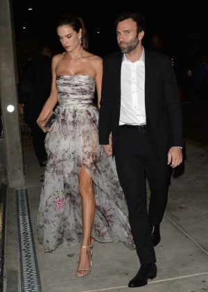 Alessandra Ambrosio - Arrives to The Baby2Baby Gala in LA