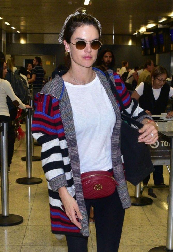 Alessandra Ambrosio – Arriving at Sao Paulo International Airport