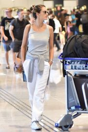 Alessandra Ambrosio - Arriving in Florianopolis