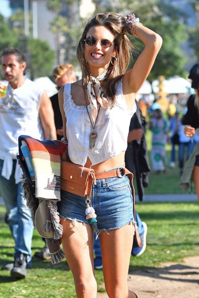 Alessandra Ambrosio - Arroyo Seco Music Festival in Pasadena