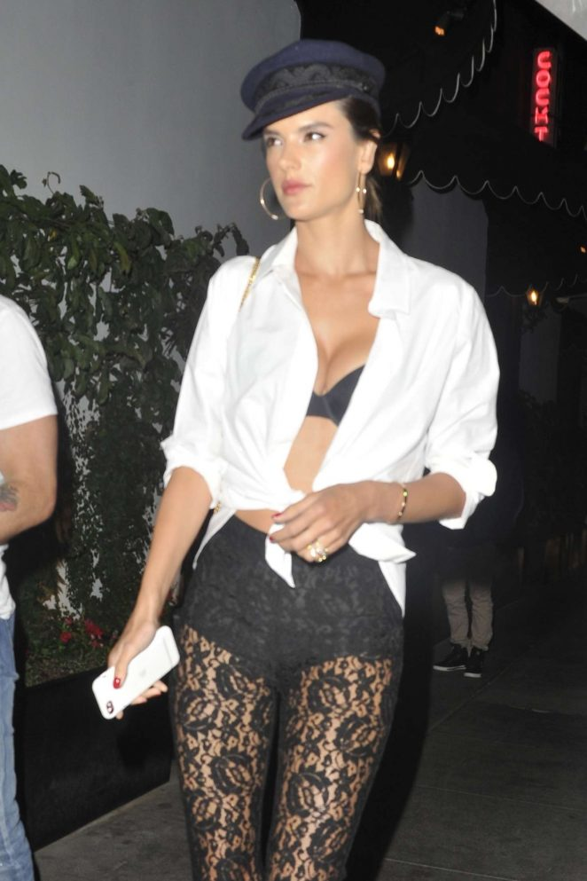 Alessandra Ambrosio at Dream Hotel for a party in Los Angeles