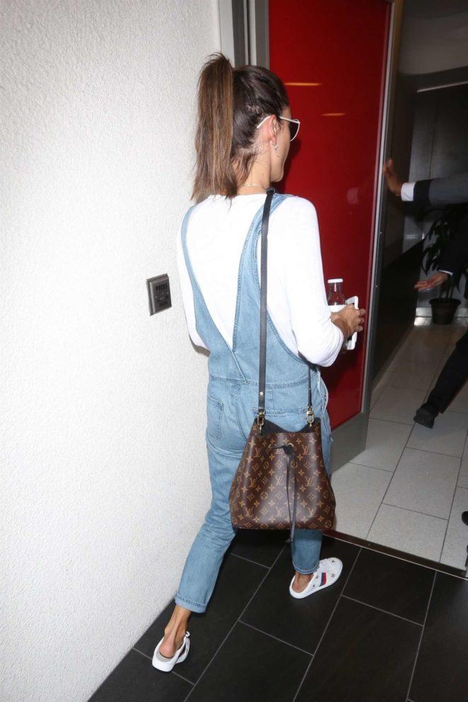 Alessandra Ambrosio at LAX International Airport -07
