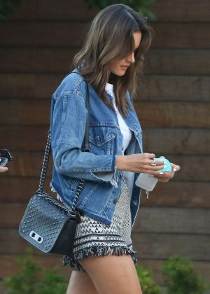 Alessandra Ambrosio at SoHo House in Malibu