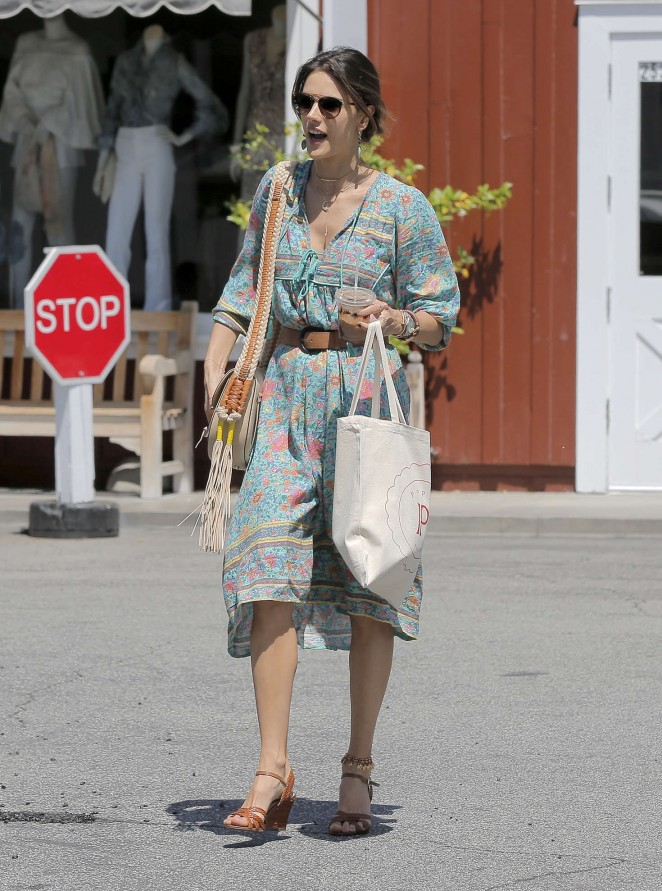 Alessandra Ambrosio at the Brentwood Country Mart -02