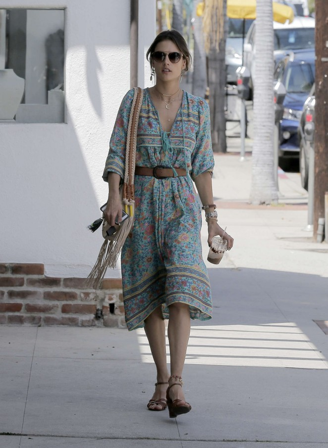 Alessandra Ambrosio at the Brentwood Country Mart -06