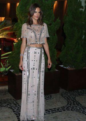 Alessandra Ambrosio - Attending The Brazil Foundation Ball in Rio de Janeiro