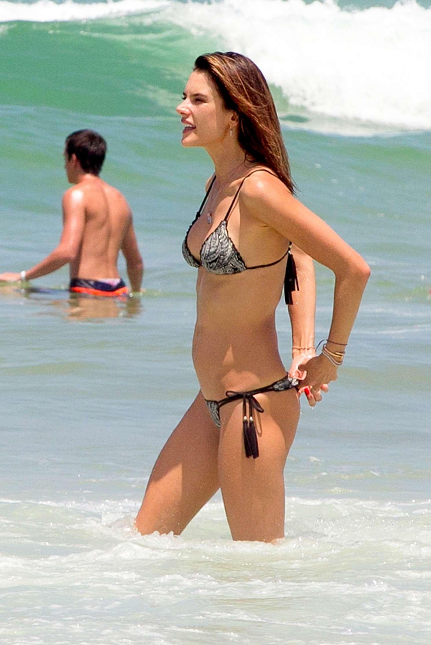 Watch Alessandra Ambrosio in a Bikini - 27 Photos video