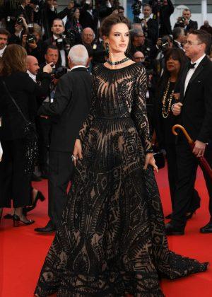 Alessandra Ambrosio - 'BlacKkKlansman' Premiere at 2018 Cannes Film Festival