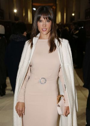 Alessandra Ambrosio - Bonpoint Collection Winter 2017 Show in Paris