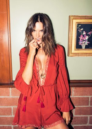 Alessandra Ambrosio by Jake Rosenberg - Guide to Los Angeles (November 2016)