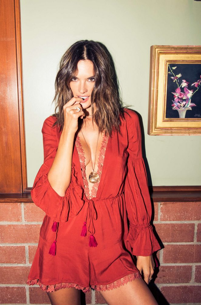 Alessandra Ambrosio by Jake Rosenberg – Guide to Los Angeles (November 2016)