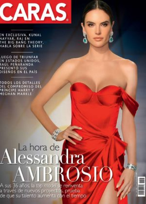 Alessandra Ambrosio - Caras Colombia Magazine (December 2017)