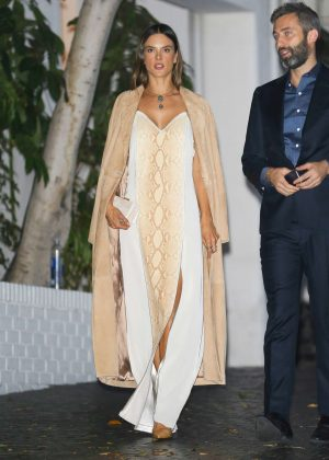 Alessandra Ambrosio - CFDA Vogue Fashion Party in West Hollywood