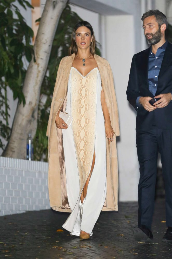 Alessandra Ambrosio – CFDA Vogue Fashion Party in West Hollywood