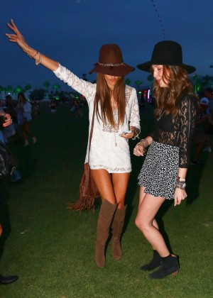 Alessandra Ambrosio - Coachella Music Festival Day 1 in Indio
