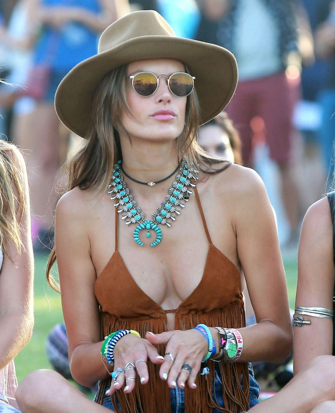 Alessandra Ambrosio - Coachella Music Festival Day 2 in Indio