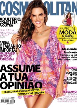 Alessandra Ambrosio - Cosmopolitan Portugal (April 2016)
