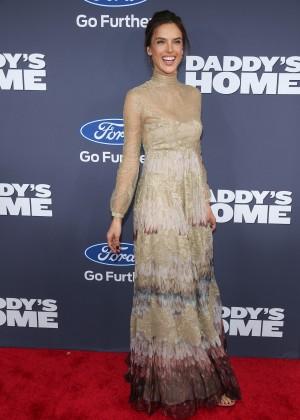 Alessandra Ambrosio - 'Daddy's Home' Premiere in New York
