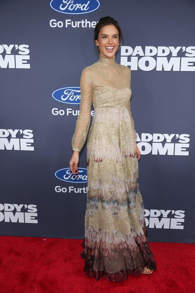 Alessandra Ambrosio – 'Daddy's Home' Premiere in New York