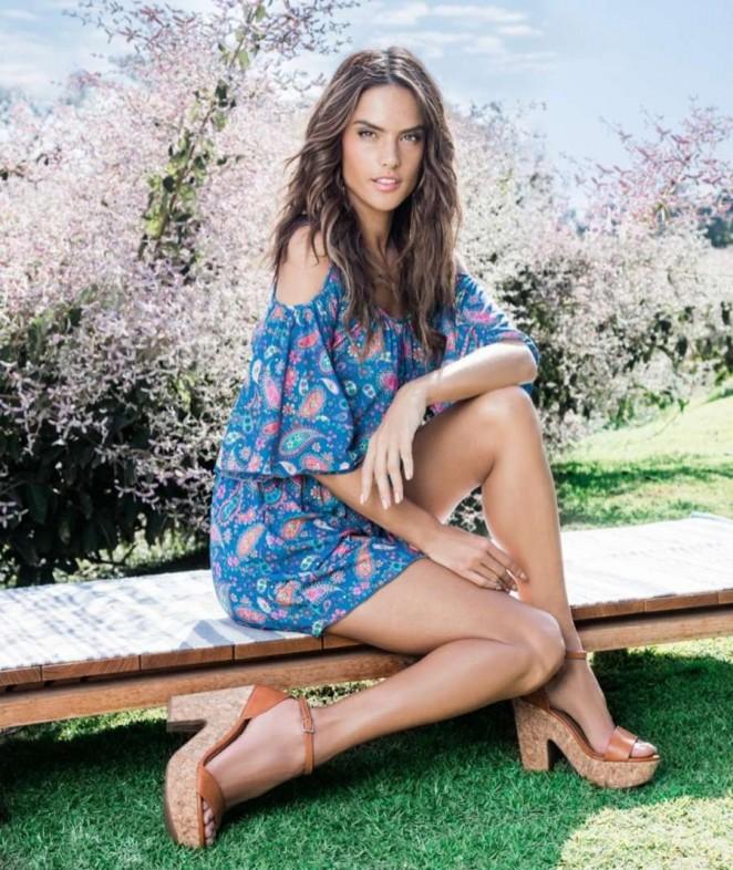 Alessandra Ambrosio - Dafiti S/S 2016 Campaign