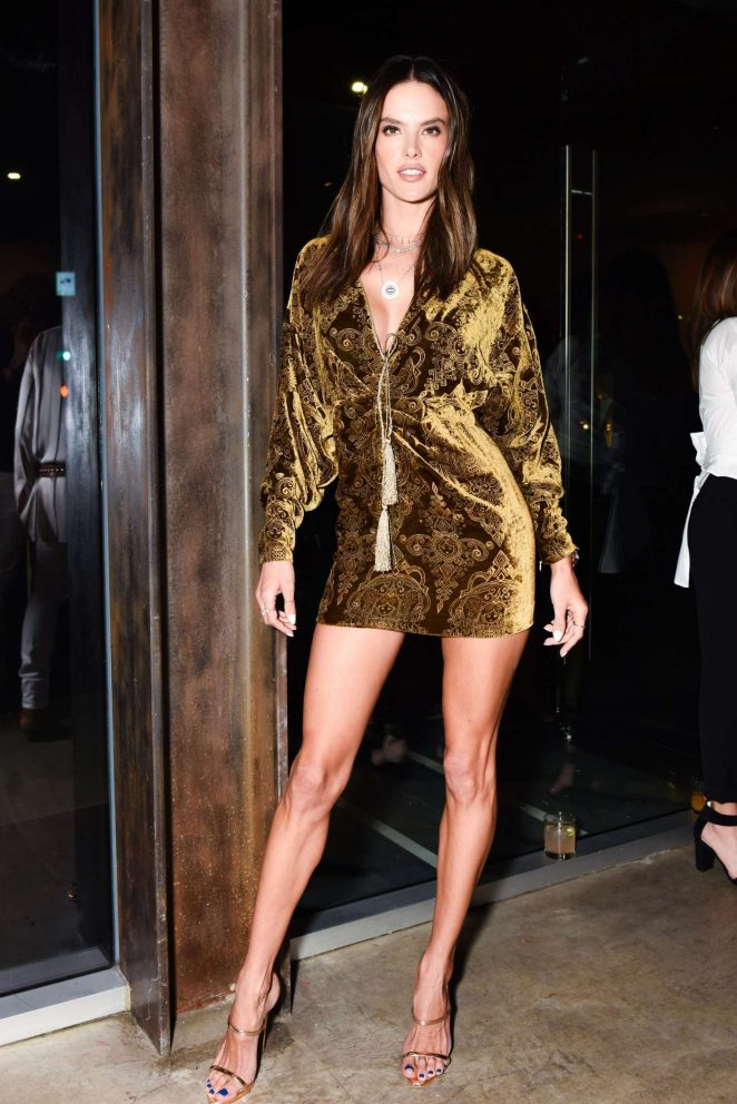 Alessandra Ambrosio – DUNDAS Traveling Flagship Cocktail Party in Los Angeles