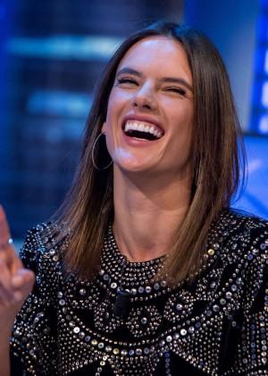 Alessandra Ambrosio – 'El Hormiguero' TV Show in Spain  Alessandra Ambrosio