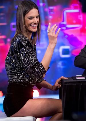 Alessandra Ambrosio - 'El Hormiguero' TV Show in Spain