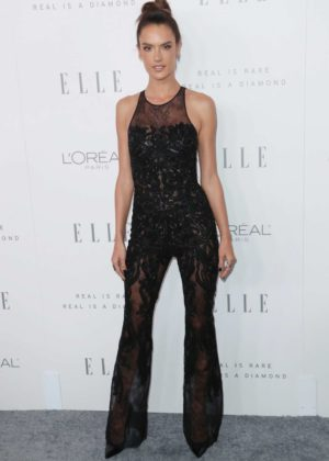 Alessandra Ambrosio - ELLE's 24th Annual Women in Hollywood Celebration in LA