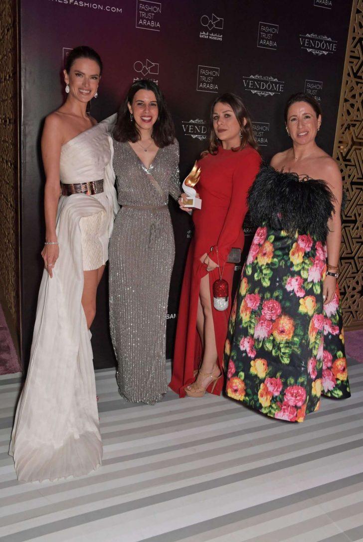 Alessandra Ambrosio: Fashion Trust Arabia Prize Awards Ceremony -03