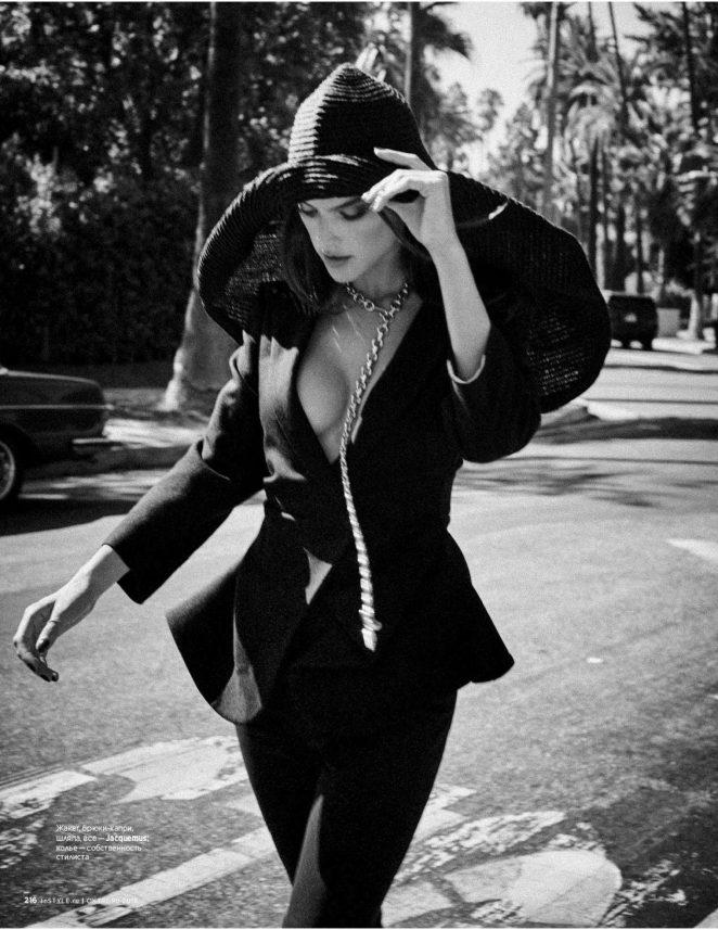 Alessandra Ambrosio for InStyle Russia Magazine (October 2018)