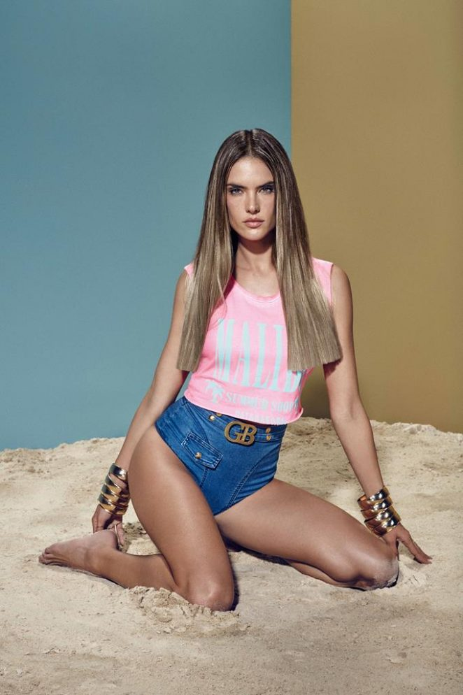 Alessandra Ambrosio - GATABAKANA Spring/Summer Collection 2017