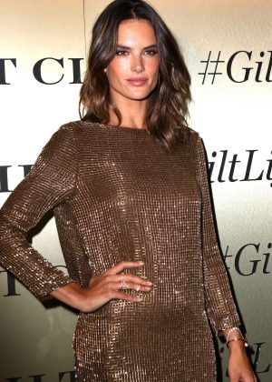 Alessandra Ambrosio - GiltLife Launch Party Event in NYC