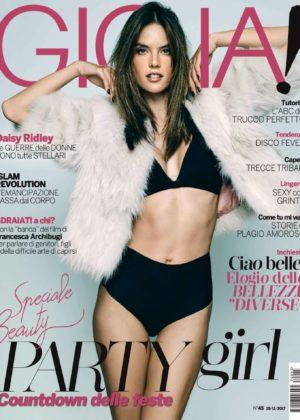 Alessandra Ambrosio - Gioia! Magazine (November 2017)