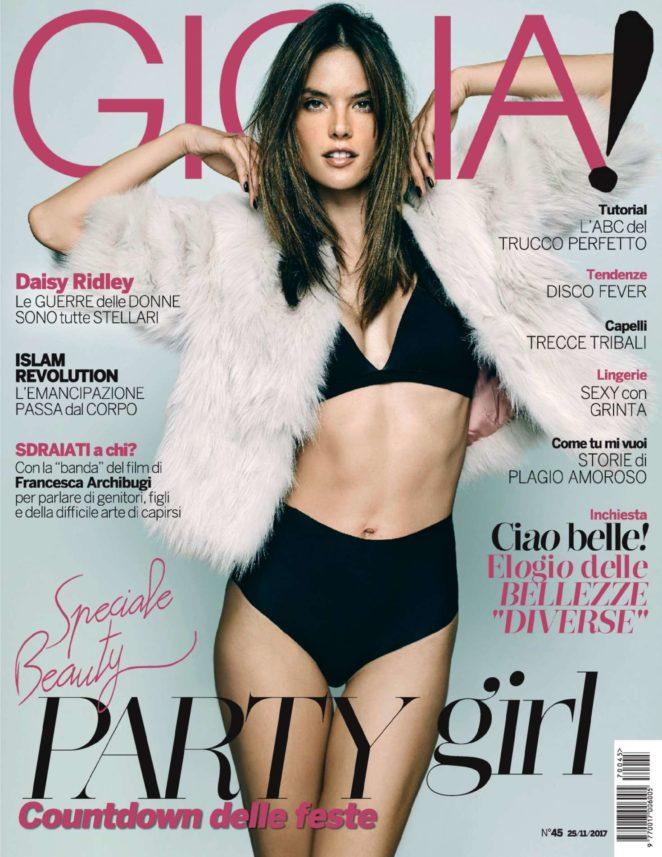 Alessandra Ambrosio – Gioia! Magazine (November 2017)