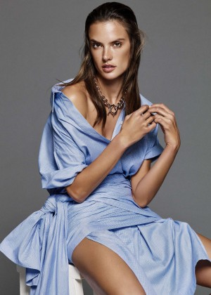 Alessandra Ambrosio - Glamour US Magazine (January 2016)