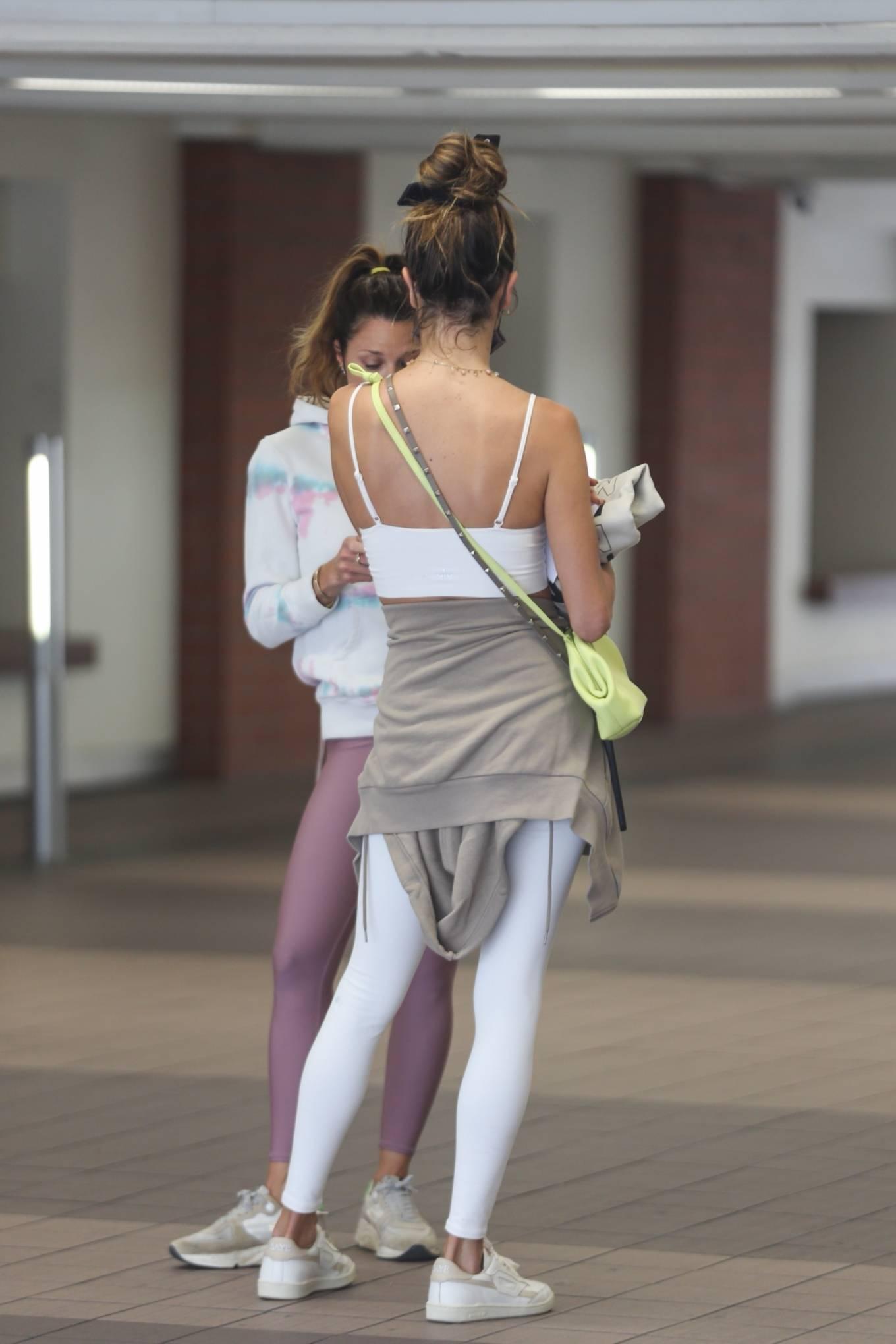 Alessandra Ambrosio 2021 : Alessandra Ambrosio – going to a Pilates class in Santa Monica-08