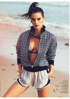 Alessandra Ambrosio - Grazia Italy Magazine (July 2016)