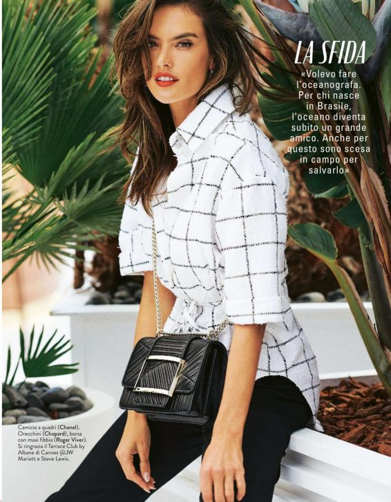 Alessandra Ambrosio - Grazia Italy Magazine (July 2019)