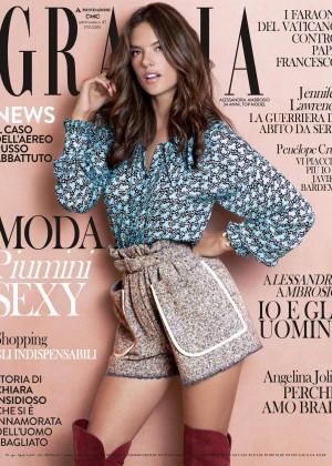 Alessandra Ambrosio - Grazia Italy Magazine (November 2015)