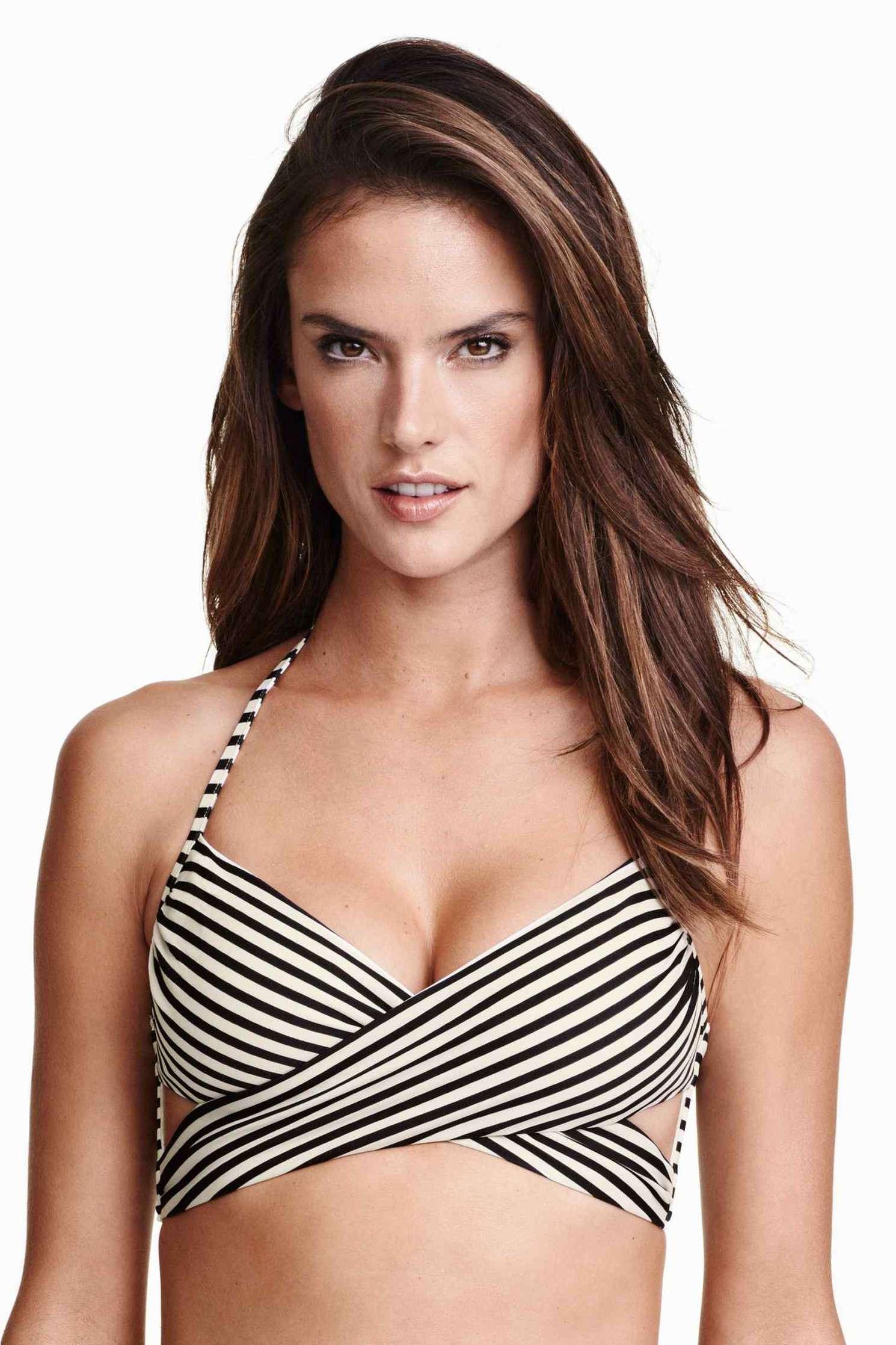 Alessandra Ambrosio: H M Swimwear 2016 -06
