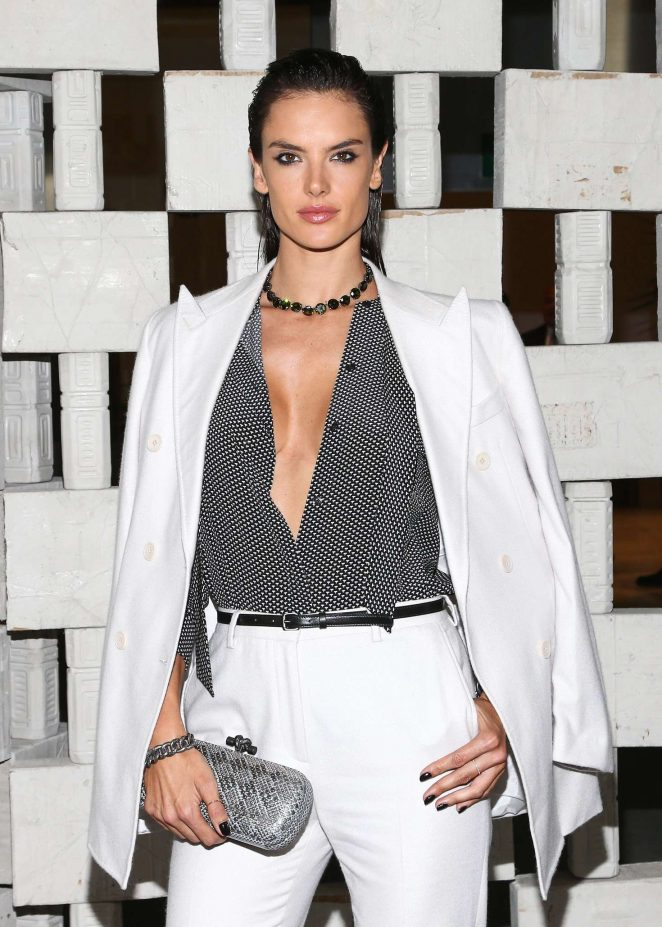 Alessandra Ambrosio - Hammer Museum's 14th annual Gala In The Garden in Westwood