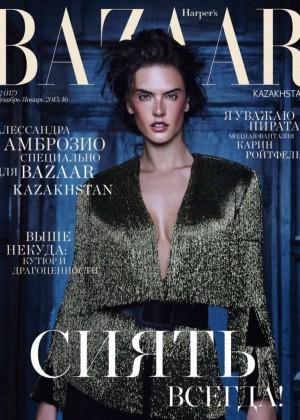Alessandra Ambrosio - Harper's Bazaar Kazakhstan (December 2015) adds