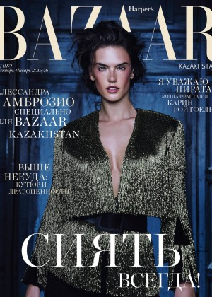 Alessandra Ambrosio - Harper's Bazaar Kazakhstan (December 2015)
