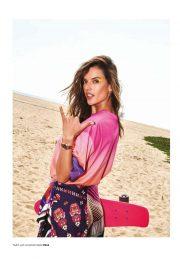 Alessandra Ambrosio - Harper's Bazaar Turkey Magazine (July 2019) adds