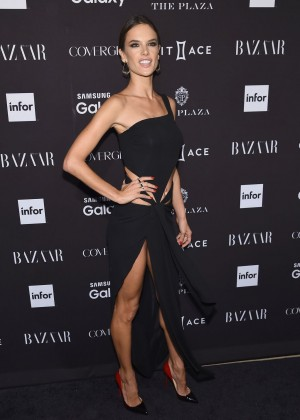 Alessandra Ambrosio - Harpers Bazaar ICONS Event in NY