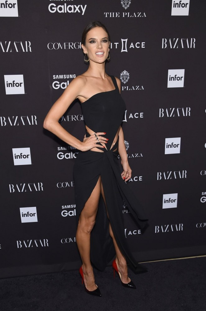 Alessandra Ambrosio – Harpers Bazaar ICONS Event in NY