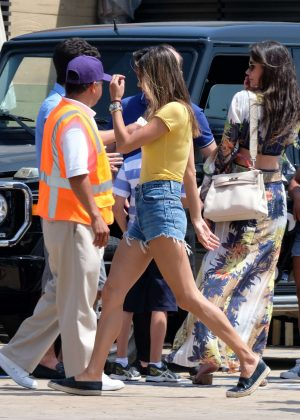 Alessandra Ambrosio - Heads for lunch at Nobu in Malibu