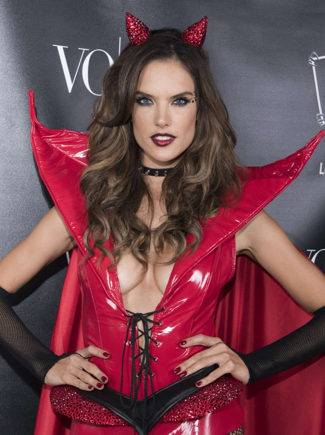 Alessandra Ambrosio - Heaven and Hell Halloween Party in Los Angeles